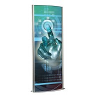 Totem Lightbox, Double Sided Illuminated Display
