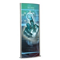 600mm Double Sided Totem Light Box
