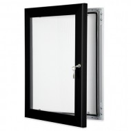 Lockable Poster Cases, Key Lock Notice Boards
