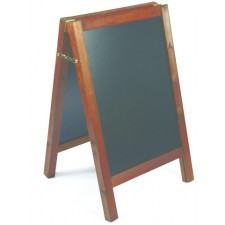 Wooden Chalkboard, A-Board, 585mm x 420mm Graphic Size