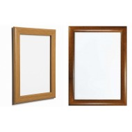 Wood Effect Snap Frames, Oak or Pine, 25mm, 32mm